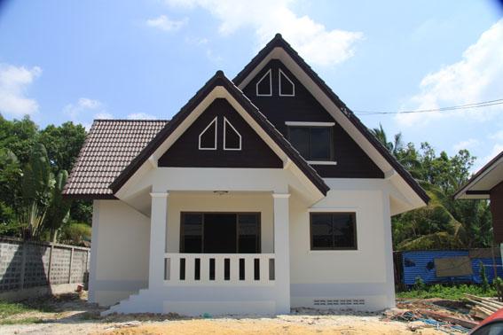 บ้านชั้นเดียวถูกและสวย