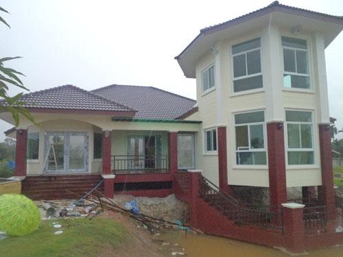 รับสร้างบ้านหรูราคาประหยัด