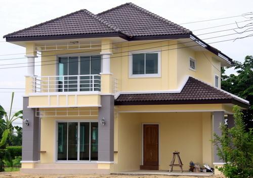 แบบบ้านสองชั้นถูก