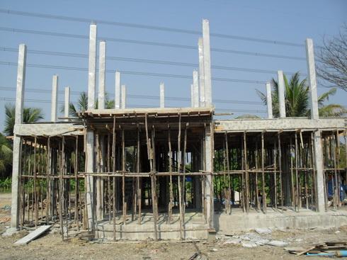 รับสร้างบ้านสองชั้นราคาถูก