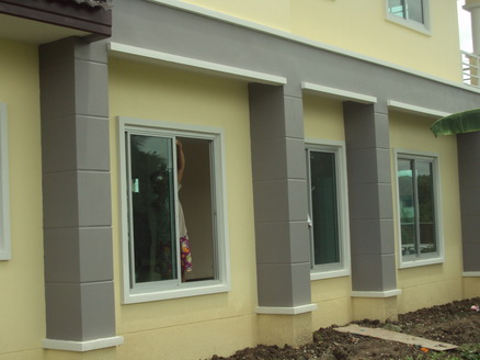รับสร้างบ้านทาสี