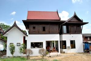 แบบบ้านทรงไทยประยุทธ