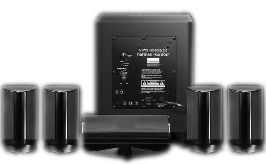 harman kardon hkts 5 5 1 channel home theater speaker. Black Bedroom Furniture Sets. Home Design Ideas