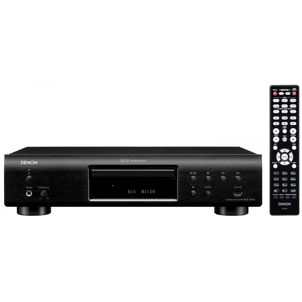 Denon DCD-720AE Pure CD-Player with reliable premium