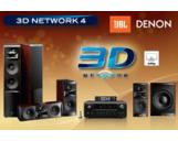 3D-Network 4 Denon AVR-3312BK AV Receiver JBL LS-60 LS-40 LS-Center LS-120P Speaker Set