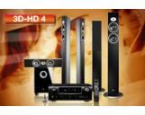 3D-HD 4 Denon AVR-2311BK AV Receiver JBL CSC-55 CST-55 CSS-10 Speakers Set