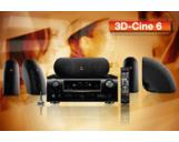 3D-Cine 6 Denon AVR-2311BK AV Receiver JBL Control Now Speakers Set