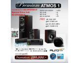 Premium Atmos 1 Home Theater Set Denon AVR-X5200WBK JBL LS-80 LS-40 LS-Center Sub 120P