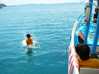 ทัวร์ดำน้ำเกาะทะลุ
