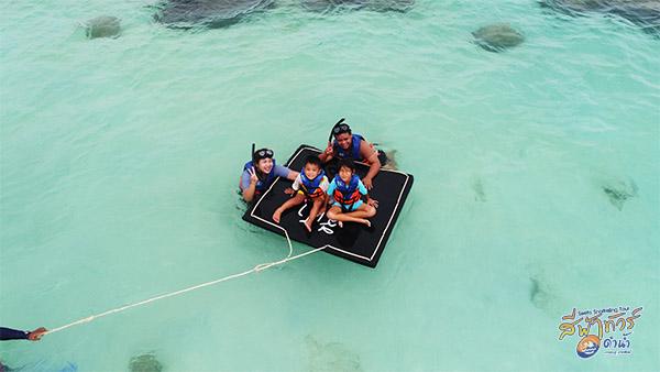 ดำน้ำเกาะทะลุประจวบ