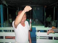 ตกปลาหมึก