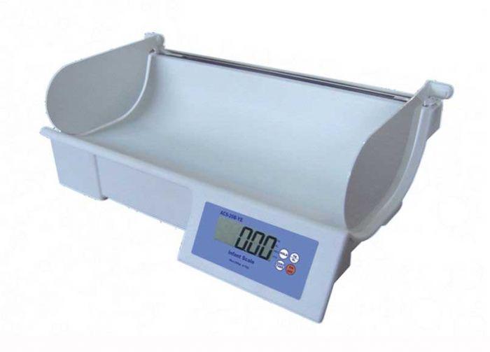 เครื่องชั่งน้ำหนักเด็กทารก  ( Baby Scale )  พร้อมชุดวัดความสูง รุ่น ACS-20B-YE  ยี่ห้อ Zepper