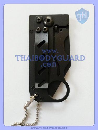 มีดพับป้องกันตัว สำหรับผู้หญิง : Dragon Mini Knife ด้านหลัง