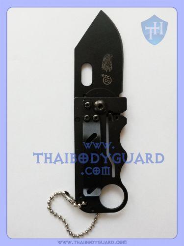 มีดพับป้องกันตัว สำหรับผู้หญิง : Dragon Mini Knife เปิดใบหลัง