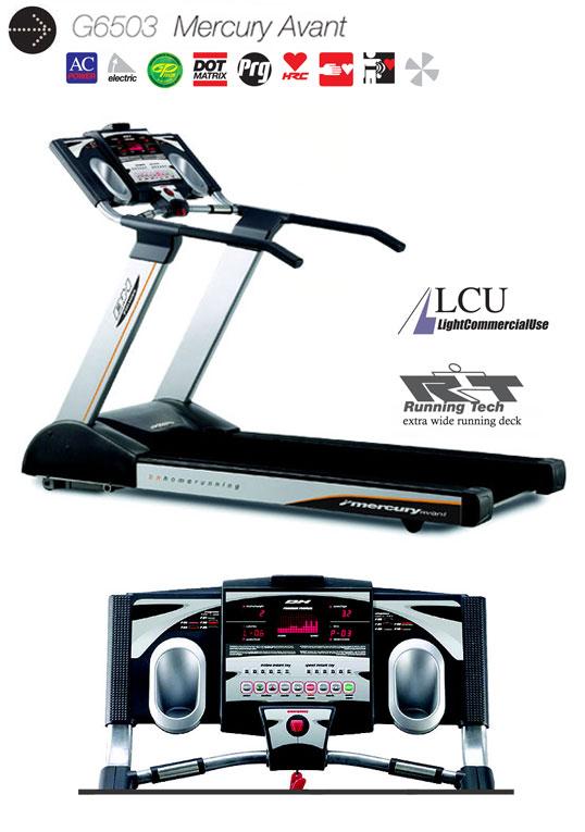 อุปกรณ์ฟิตเนส ลู่วิ่งไฟฟ้า ยี่ห้อ BH Fitness รุ่น BH-6503