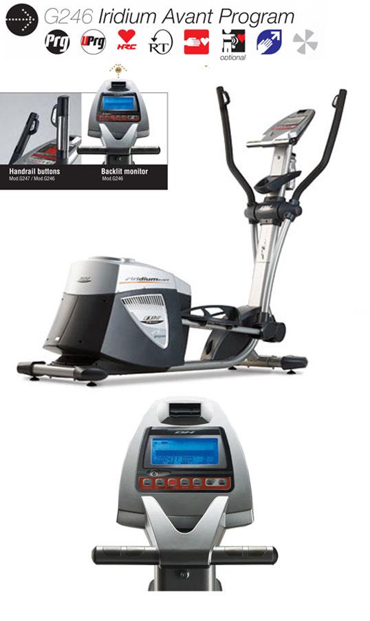 อุปกรณ์ฟิตเนส ลู่เดินกึ่งสเต็ป ยี่ห้อ BH Fitness รุ่น BH-G246
