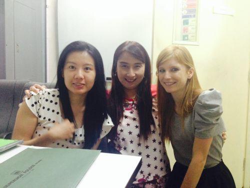 Private Thai lessons at Thai Smile Language school near Silom road