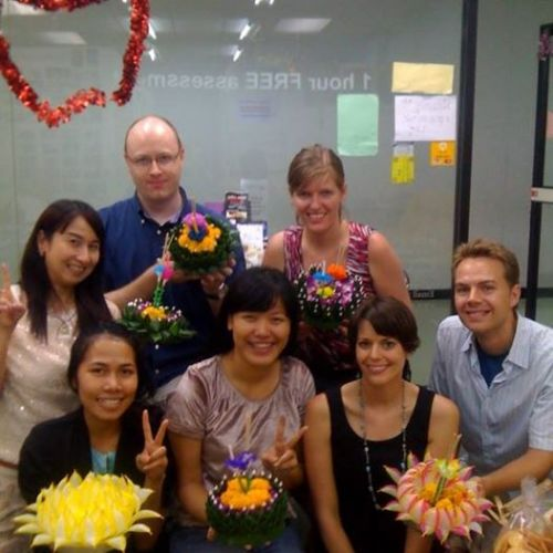 Friendly thai teachers at Thai smile Language ( Thai language school)