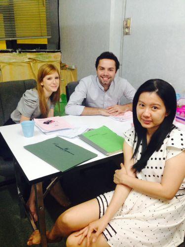 Group 2 students ( Thai Smile language) Thai language school
