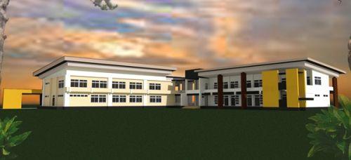 อาคารกลุ่มวิจัยและปฏิบัติการ  มหาวิทยาลัยมหาสารคาม