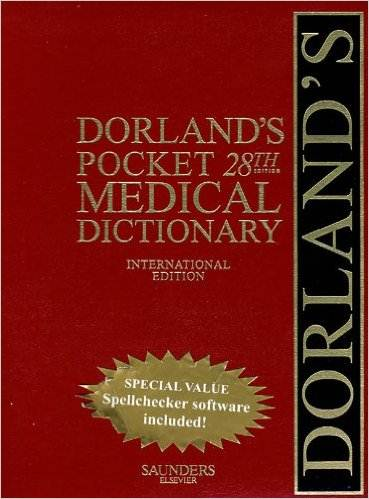 Dorland's Pocket Medical Dictionary, 28th Edition