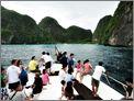 ตั๋วเรือ โดยสาร ภูเก็ต - เกาะพีพี - เกาะลันตา
