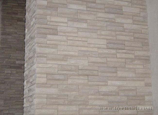 ลาวา สีขาว Kenzai Lava Stone