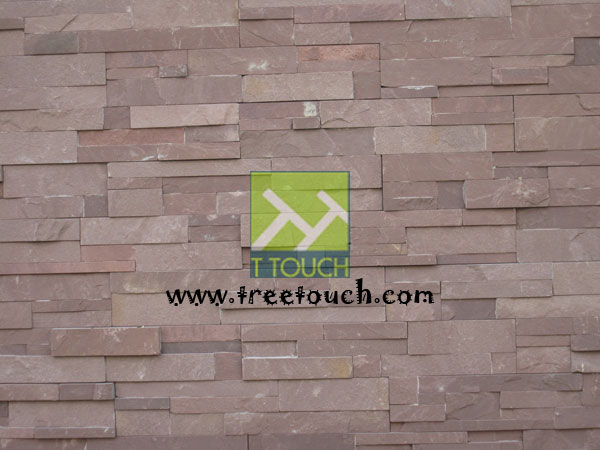 Sand Stone Jigsaw Red color