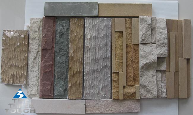 หินทราบแบบต่างๆ