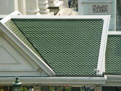 green roof tile