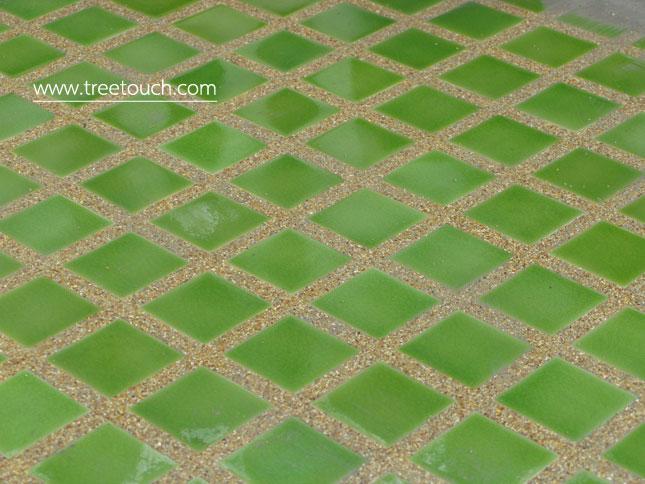 Lovebird Swimming pool tiles