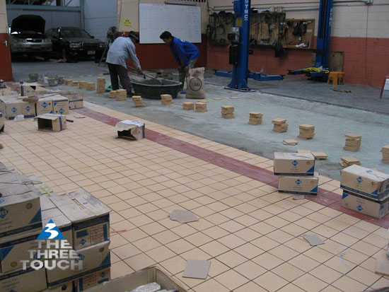 กระเบื้องโรงงานอุตสาหกรรมห้องเย็น RCI