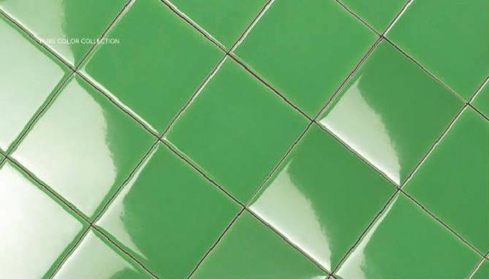 กระเบื้อง Subway สีเขียว