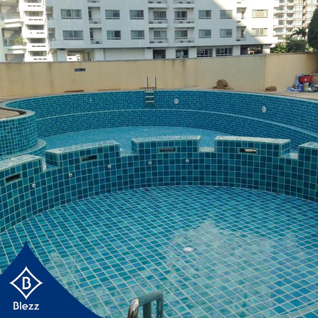 กระเบื้องสระว่ายน้ำ Pool Tiles