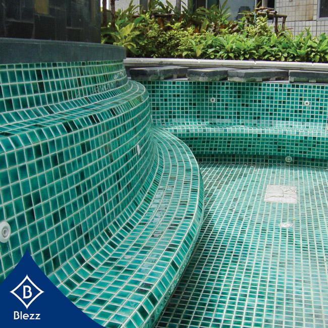 กระเบื้องสระว่ายน้ำ Swimming pool tile ditg[nhv'lit;jkpohe ปูพื้น