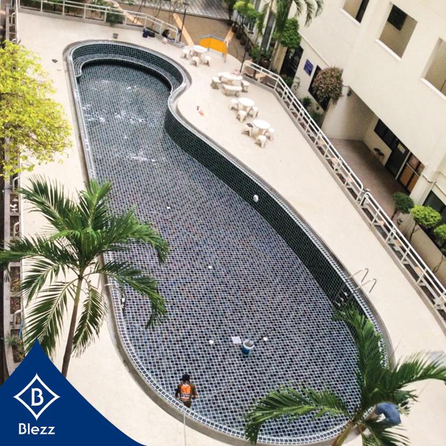 กระเบื้องสระว่ายน้ำ swimming pool tiles ditg[nhv'lit;jkpohe
