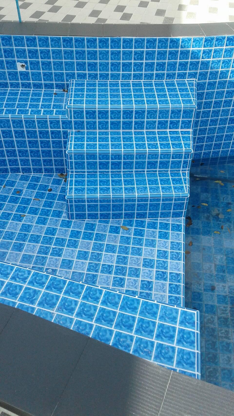 กระเบื้องสระว่ายน้ำ เคนไซ Swimming Pool Tiles Kenzai