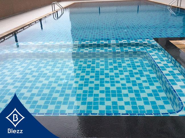 กระเบื้องสระว่ายน้ำ Swimming pool Tile