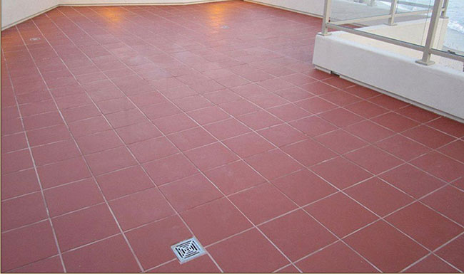 ผลงานกระเบื้องดินเผา Terra Cotta Tiles