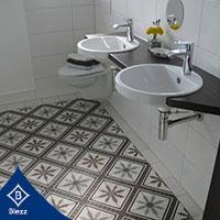 กระเบื้องลายโบราณ Blezz Antique tile กระเบื้องปูพื้น กระเบื้องห้องน้ำ