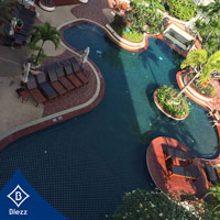 กระเบื้องสระว่ายน้ำ Winsor suite hotel
