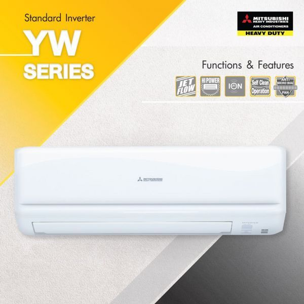 AIR MITSUBISHI HEAVY DUTY-YW-SERIES-INVERTER