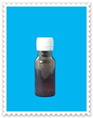 ขวดพลาสติก PET สีชา ขนาด 30 ml