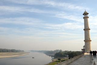 แม่น้ำยมุนา จากทัชมาฮาล