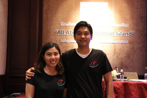 นพ. ณัฐวุฒิ วะน้ำค้าง และ พญ. อารีย์ นิมิตรวงศ์กุล Dr. Nattawut Wanumkarng and Dr. Aree Nimitwongsakul