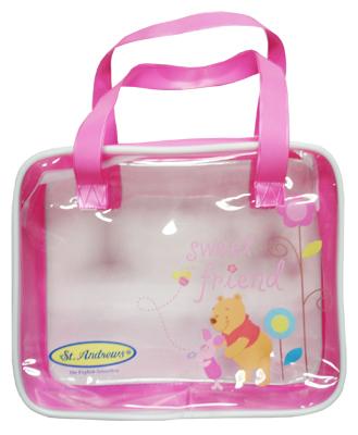 กระเป๋าใส่คุกกี้ สีชมพู