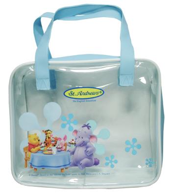 กระเป๋าใส่คุกกี้ สีฟ้า
