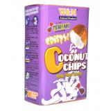 Crispy Coconut Chips (Teriyaki)
