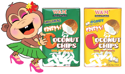New Coconut Chips Packaging