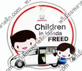 จุ๊บติดกระจก Chiden in Honda FREED